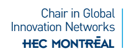 Research chair in global innovation networks Logo